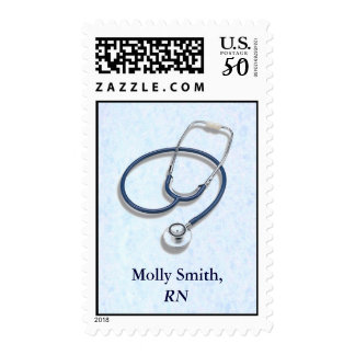 Medical Profession Custom Name Postage