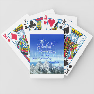 Medical Profession is a Heart-pounding Adventure Bicycle Playing Cards