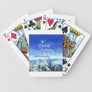 Medical Profession is an Adventure_Heartbeat & Mou Bicycle Playing Cards