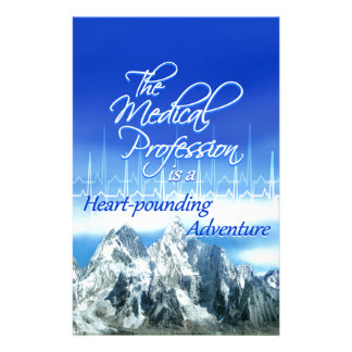 Medical Profession is an Adventure_Heartbeat & Mou Stationery