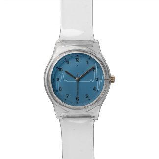 Medical Profession Nurse Physician Healthcare EKG Wrist Watch