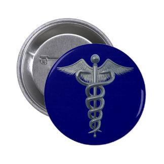 Medical Profession Symbol Pinback Buttons