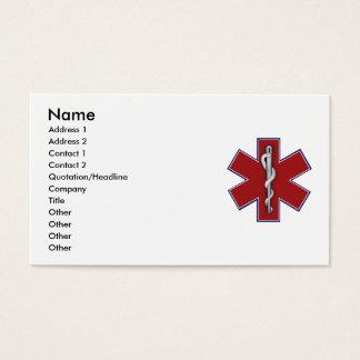 Medical Profile Card