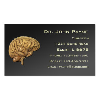 Medical Profile Card Business Card