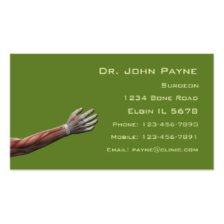 Medical Profile Card Business Card Template
