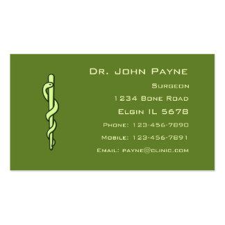 Medical Profile Card Business Card Templates