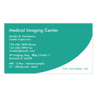 Medical Radiology Business Cards