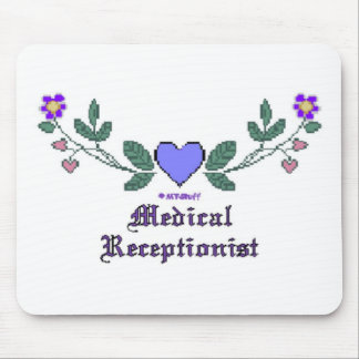 Medical Receptionist CS Mouse Pad