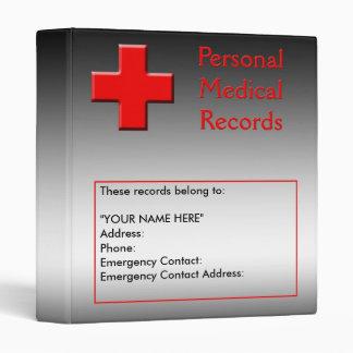 Medical Records Album Vinyl Binders