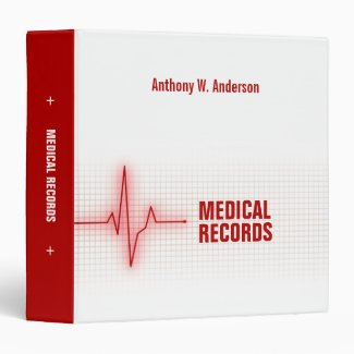 Medical Records Health binder