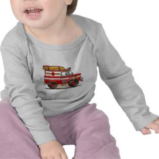 Medical Rescue Van Baby T-Shirt
