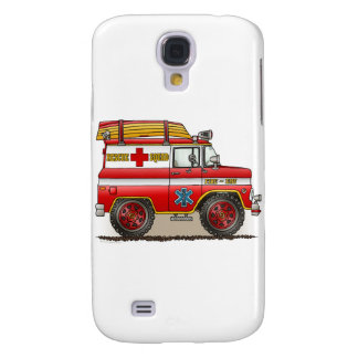 Medical Rescue Van Cover Samsung Galaxy S4 Covers