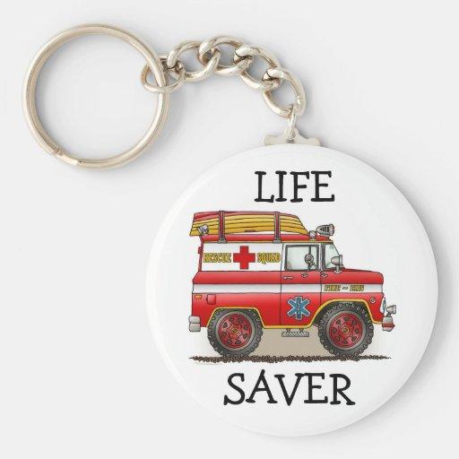 Medical Rescue Van Keychain Llaveros