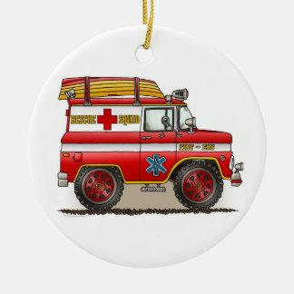 Medical Rescue Van Ornament