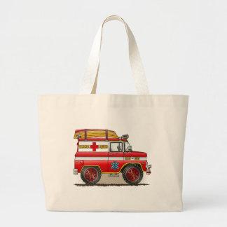 Medical Rescue Van Tote Bag