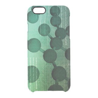 Medical Research and Corporate Technology As Art Clear iPhone 6/6S Case