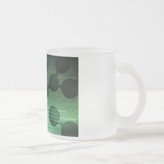 Medical Research and Corporate Technology As Art Frosted Glass Coffee Mug