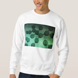 Medical Research and Corporate Technology As Art Sweatshirt