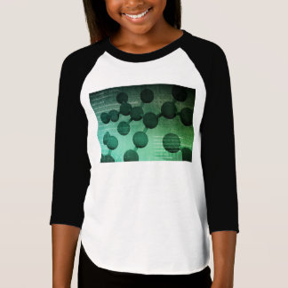 Medical Research and Corporate Technology As Art T-Shirt