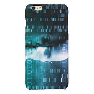 Medical Research in Genetics and DNA Science Glossy iPhone 6 Plus Case