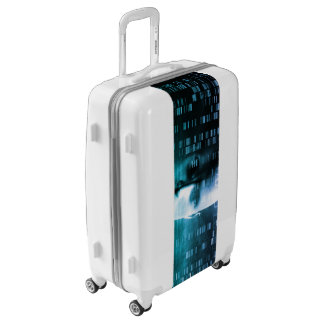 Medical Research in Genetics and DNA Science Luggage