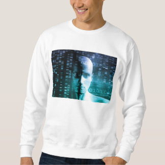 Medical Research in Genetics and DNA Science Sweatshirt