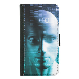 Medical Research in Genetics and DNA Science Wallet Phone Case For Samsung Galaxy S5