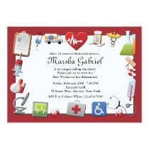 Medical Retirement Party Invitation