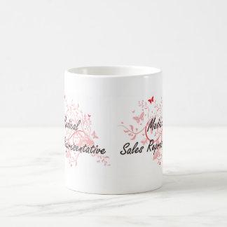 Medical Sales Representative Artistic Job Design w Coffee Mug