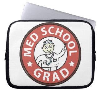 Medical School Grad (Male) Laptop Sleeve