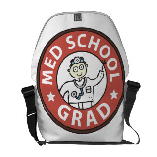 Medical School Grad (Male) Courier Bags
