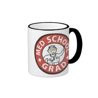 Medical School Grad (Male) Mugs