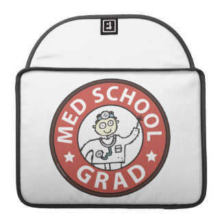 Medical School Grad (Male) Sleeve For MacBooks