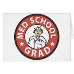 Medical School Graduation (Female) Greeting Cards