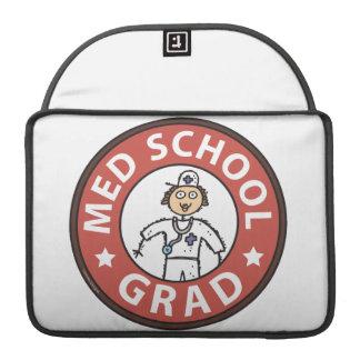 Medical School Graduation (Female) MacBook Pro Sleeves