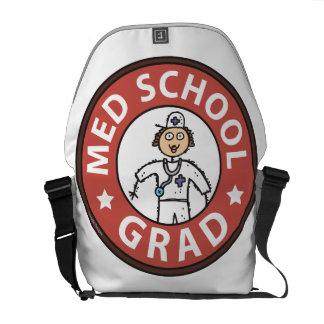Medical School Graduation (Female) Courier Bag