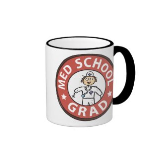 Medical School Graduation (Female) Mugs