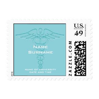 Medical School Graduation Stamps - Custom