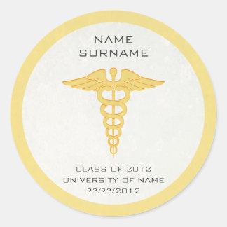 Medical School Graduation Stickers/Envelope Seals
