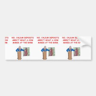 medical school joke bumper sticker