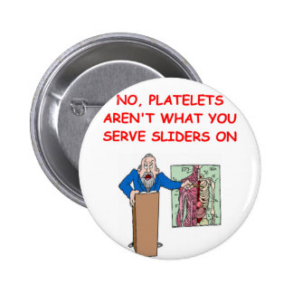 medical school joke pinback buttons