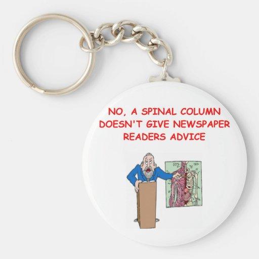 medical school joke keychains