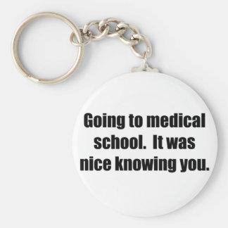 Medical School Keychain