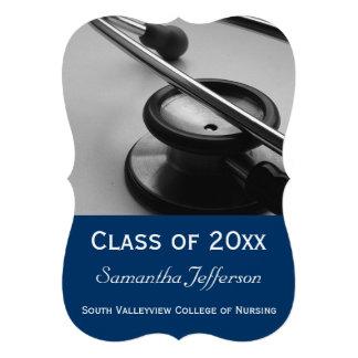 Medical School Nursing Photo Graduation Announcement
