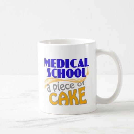 Medical School - Piece of Cake Classic White Coffee Mug