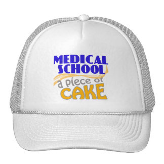 Medical School - Piece of Cake Trucker Hat