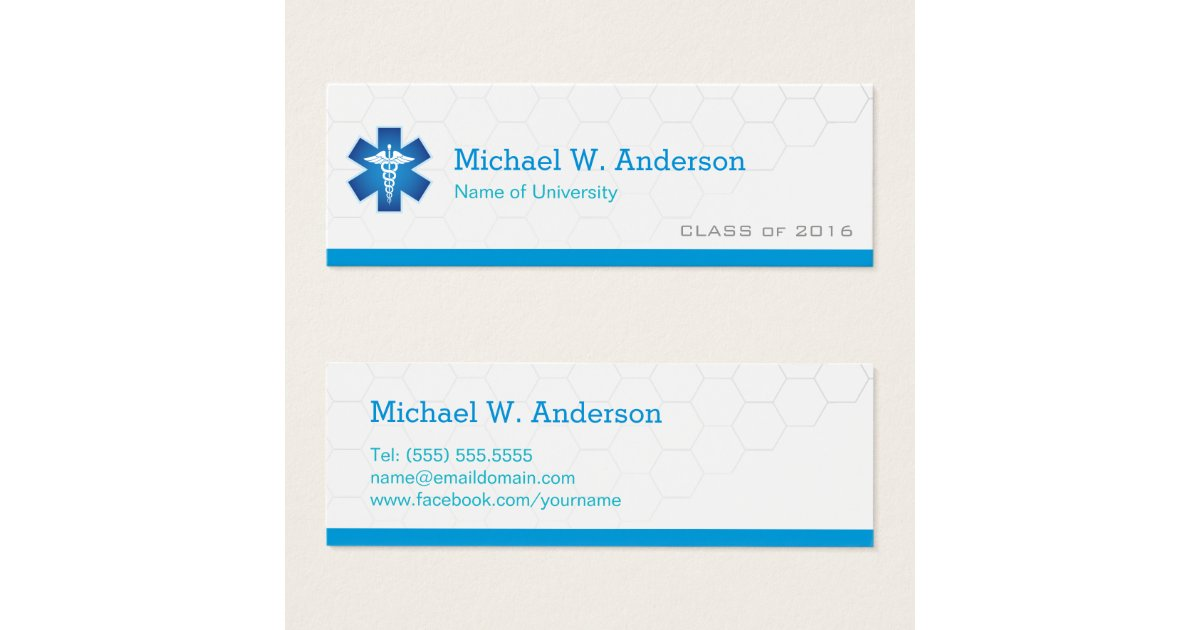 Nursing School Graduation Business Cards & Templates | Zazzle