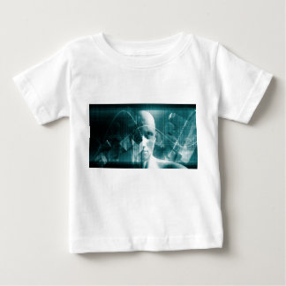 Medical Science Futuristic Technology as a Art Baby T-Shirt