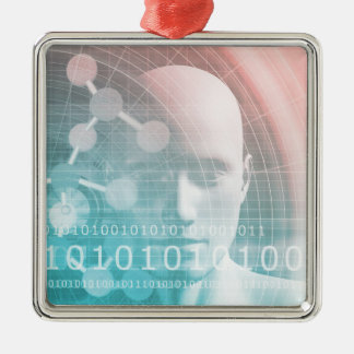 Medical Science of the Future with Molecule Metal Ornament