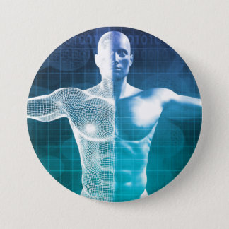 Medical Science Pinback Button